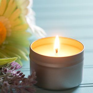 French Lavender Honey Candle & 100 Incense Sticks
